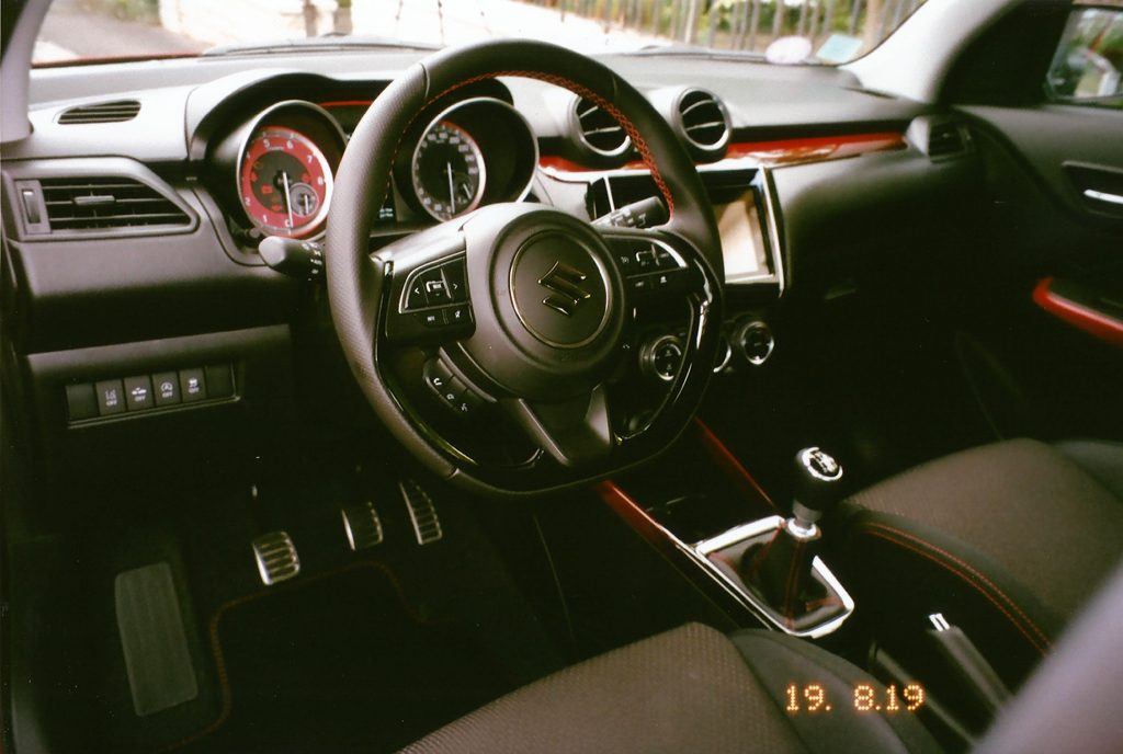 Suzuki Swift Sport ZC33S Intérieur