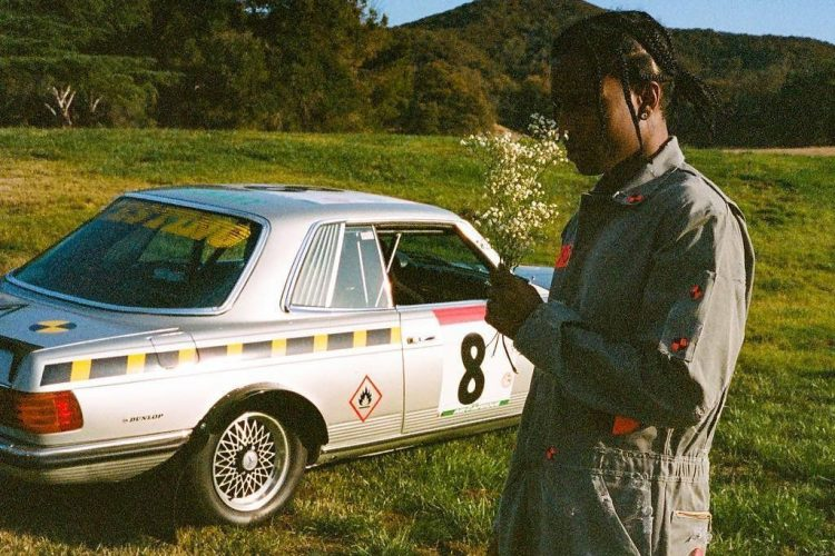 Asap Rocky Mercedes Benz 500SLC Rally